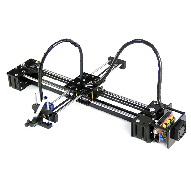 Diy ly drawbot caneta desenho figura pet máquina de escrever robô rotulação corexy xy-plotter robô para cnc v3 escudo desenho brinquedos