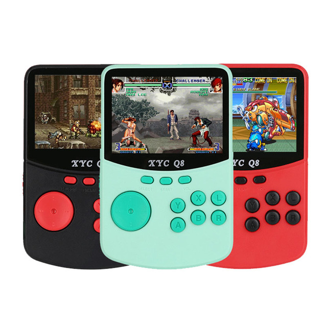 With 512M32G TF Card Retro Handheld Video Games Console For NESSNESMAMEMDGBA 16 Bit Arcade Game Players 10000 Games TV Out 1