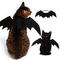 halloween-cat-bat-wings-collar-harness-decor-costume-puppy-pet-kitten-black-dress-up-funny-clothes-accessories-christmas-gifts