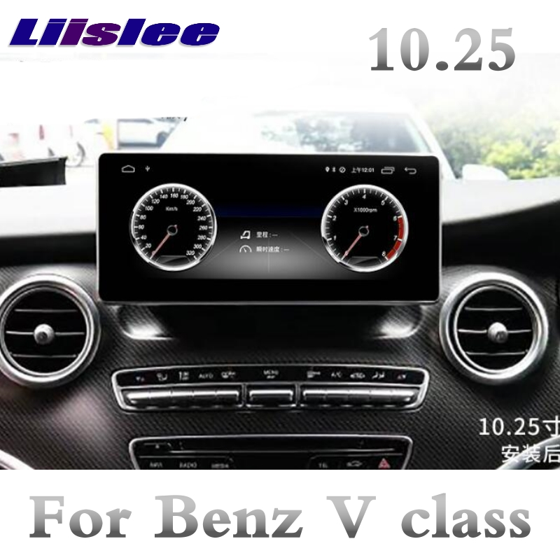 For Mercedes Benz V Class Viano MB <font><b>W447</b></font> 2014~2019 NTG 10.25 Inch Liislee Car Multimedia Player NAVI Radio GPS CarPlay Navigation image