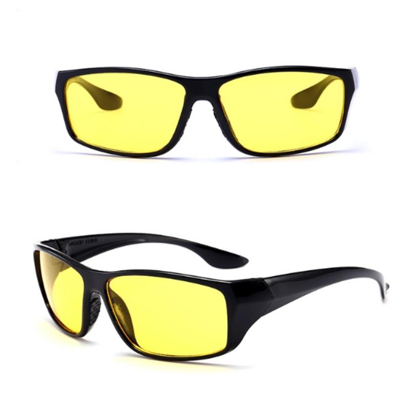 Fishing Camping Hiking Night Driving Enhanced Light Anti-glare Glasses Sunglasses Men Fashion Polarized Clip On Sunglasses