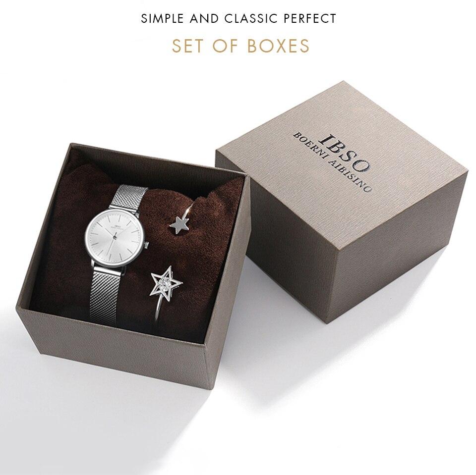1 (11) Montre-Bracelet bijoux ensemble cadeau pour femmes