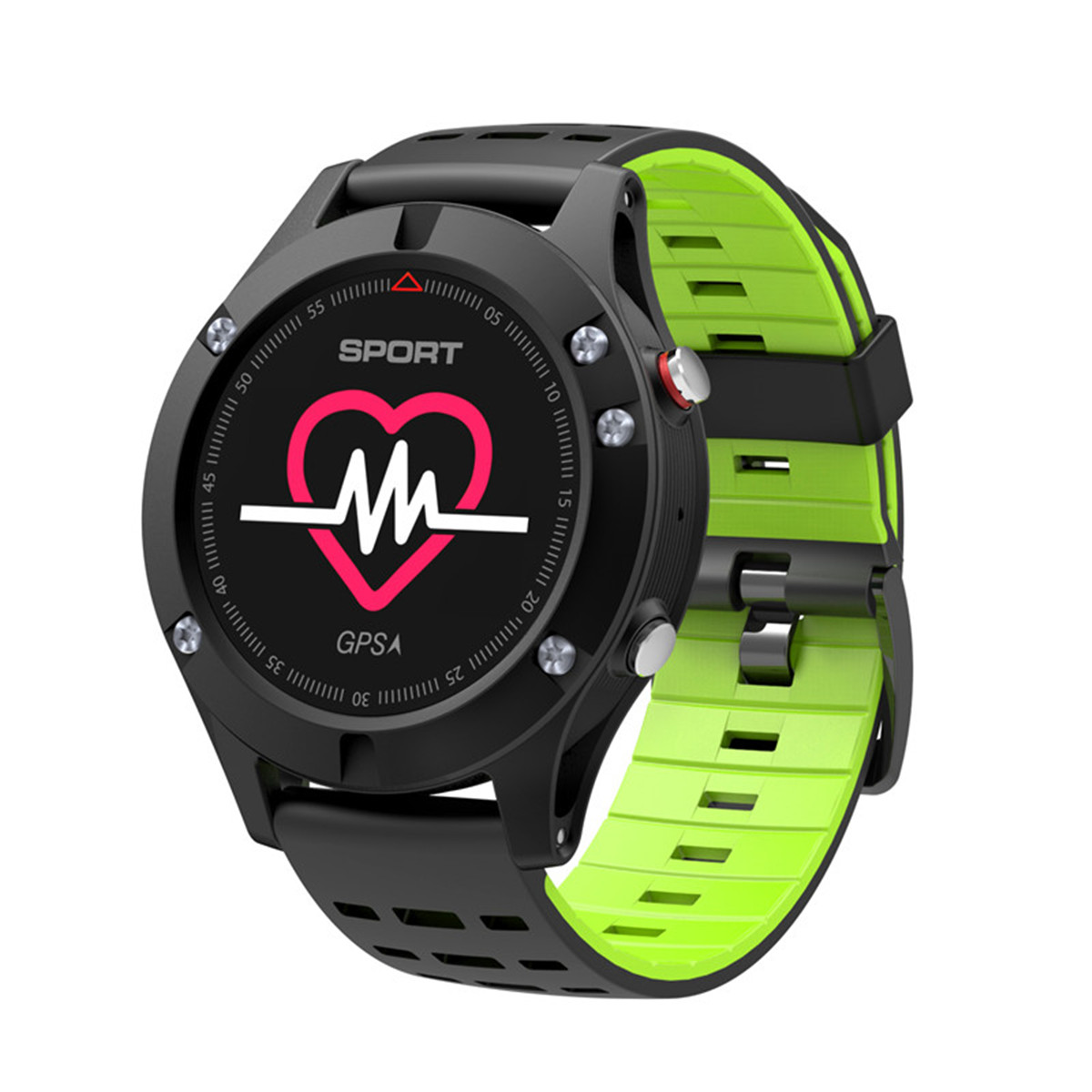 Smart Watch Men OGEDA.1 <font><b>F5</b></font> Android Smartwatch GPS Heart Rate Monitor Pedometer Temperature Altitude Measurement For IOS Android image