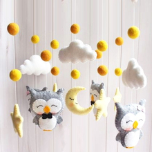 Baby Crib Toy Holder Rattles 0-12 Months Baby Plush Toys Bed Bell Toy Angel Bear Music Rattle Mobile Toys For Little Children cartoon baby plush ball toys colorful softy rattle mobile ring bell toy brinquedos juguetes para bebes jouet wj531