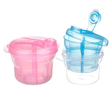 Three-lattice Snack Portable Healthy Milk Powder Breast Kids Baby Food Storage Container Storage Cup Feeding Box(China)
