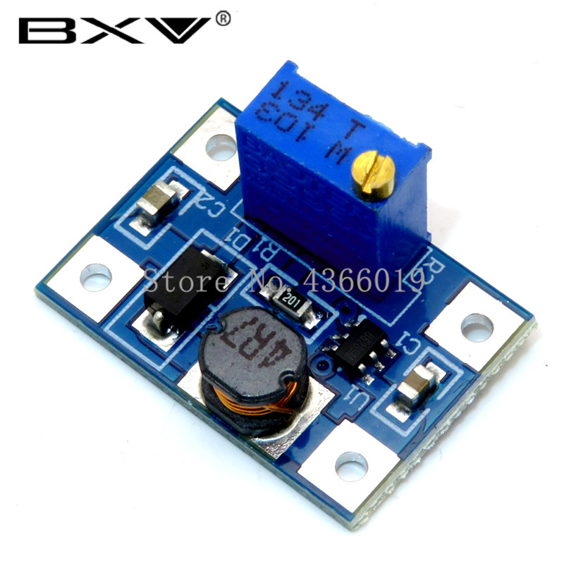 2-24V To 2-28V 2A DC-DC SX1308 Step-UP Adjustable Power Module Step Up Boost Converter For DIY Kit