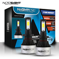 NIGHTEYE 2 шт. супер H7 светодиодный светильник H4 светодиодный H1 H3 H11 Автомобильные фары 9005 HB3 9006 HB4 светодиодный фары лампы 72 Вт 6500K 12V для автомобил...