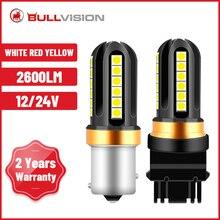 Bullvision P21W PY21W P21/5W Led Tagfahrlicht W21/5W 9012 Parkplatz Lichter 12V 24V BAU15S Blinker 9006 Seite Licht