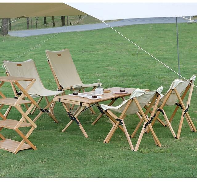 Wooden Folding Chair 6