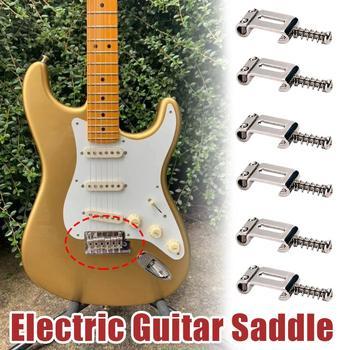 цена на Electric Guitar Saddle 6 Roller Vibrato Bridge Pull String Code Electric Guitar Saddle Electric Guitar Accessories