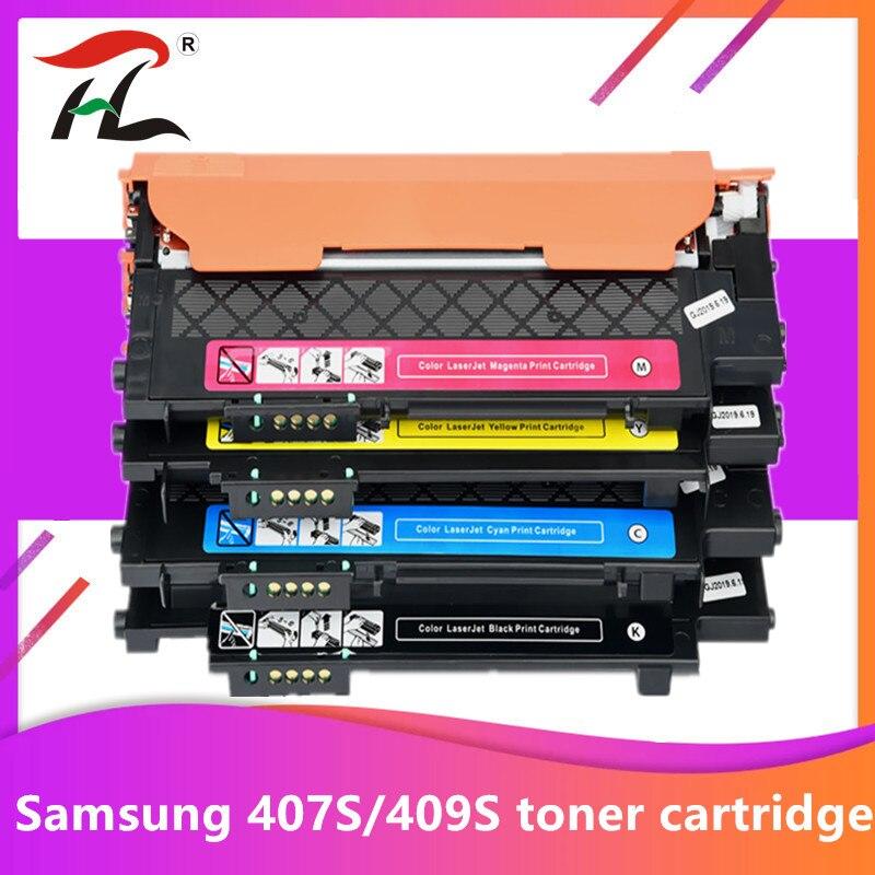 Совместимый CLT-407S 409S K409S clt-k407S K407S 407s тонер-картридж для Samsung CLP-320 CLP-325W CLX-3185FW CLP-310N