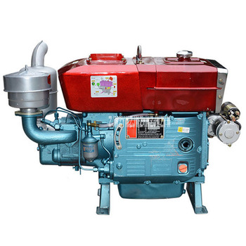20-horsepower Agricultural Single-Cylinder Water-Cooled Diesel Engine ZS1110/ ZS1110M Electric Start Diesel Engine 20hp 2200R/M