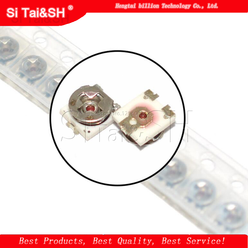 20 шт., 3*3 триммера, потенциометр, регулируемый резистор, 100 500 1K 2K 5K 10K 20K 50K 100K 1M Ом