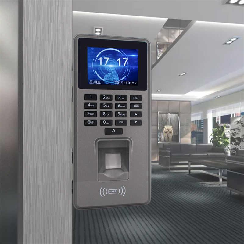 Baru Akses Kontrol Sidik Jari Keypad TCP/IP/USB Kartu RFID Pembaca Biometrik Sandi Akses Sistem Mesin Absensi