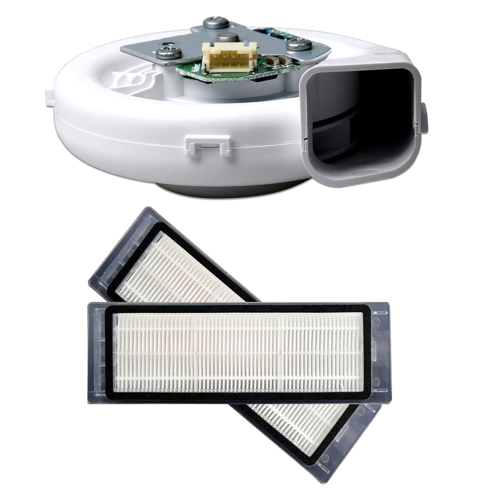3pcs/set Original Engine ventilator fan motor Washable Vacuum Cleaner HEPA Filter for Xiaomi 2nd Gen Roborock S50 S51 S55 Vacuum