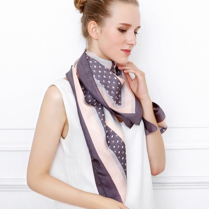 """New silk scarf/scarf """"fox"""" heavy weight silk spun mulberry silk scarf/large shawl"""