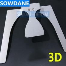 Стоматологическая Ортодонтическая 3D Occlusal Maxillary литье челюсти лиса плоская тарелка полный Протез для отбеливания зубов