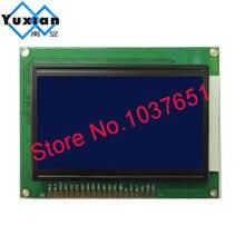 Yuxian 12864 12864A ЖК-дисплей модуль STN синий 5v Графический KS0108 WH12864A размер 93*70 мм, 1 шт