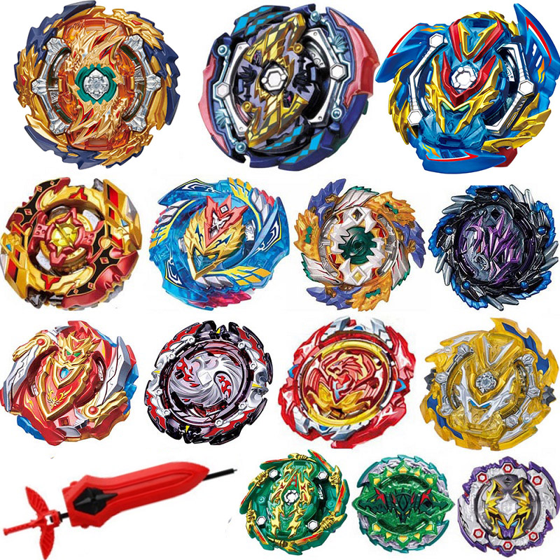 Tops Launchers Beyblade Metal Fusion B-134 Arena Toys Sale Bey Blade Blade Achilles Bable Fafnir Phoenix Blayblade Blade 45213