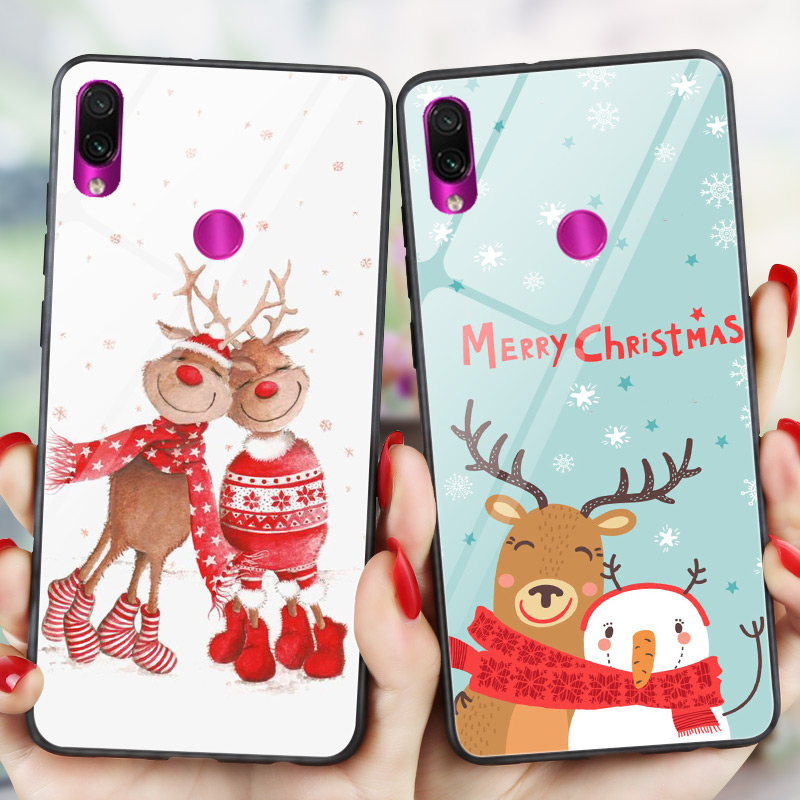 <font><b>Mi</b></font> A3 Merry Christams Phone Case FOR <font><b>Xiaomi</b></font> <font><b>Mi</b></font> 8 Lite <font><b>Mi</b></font> <font><b>9</b></font> <font><b>SE</b></font> Redmi K20 PRO <font><b>Mi</b></font> 9T Back Cover PC + TPU Glossy <font><b>Mi</b></font> A2 Lite <font><b>Capa</b></font> image