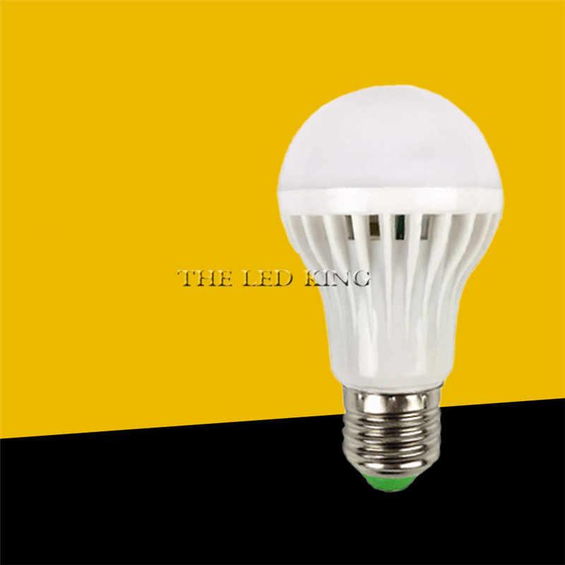 3W 5W 7W 9W 12W E27 220V LED Smart Suara/PIR MOTION sensor LED Lampu Lampu Induksi Tangga Lorong Malam Lampu Putih