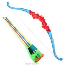Спорт на открытом воздухе стрельба из лука игрушка лук с 4 шт
