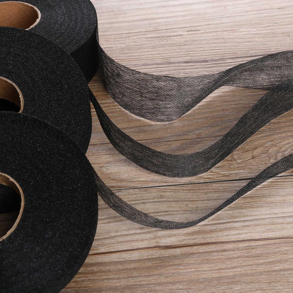 1Rolls 100 M Single-Side Lijm Zoom Tape Iron-On Plakband Naaien Turn Up Hem Niet-Geweven Stof Liner