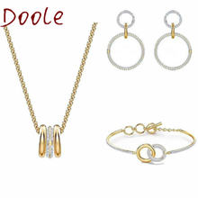 Высококачественные модные ювелирные изделия swa ожерелье с переводной