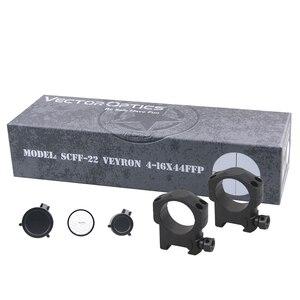 Image 5 - Vector Optics Veyron 4 16x44 Air Zielfernrohr FFP Zielfernrohr Ultra Kurze Kompakte 1/10 MIL .22 .25LR Auch Passt Kurze Schusswaffen