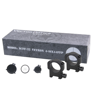 Image 5 - וקטור אופטיקה Veyron 4 16x44 אוויר רובה היקף FFP Riflescope אולטרה קצר קומפקטי 1/10 MIL .22 .25LR גם מתאים קצר נשק