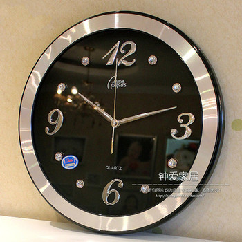 Large Luxury 3D Wall Clock Nordic Modern Mute Living Room Clock Wall Bedroom Kitchen Repario De Parede Home Decor DD55WC