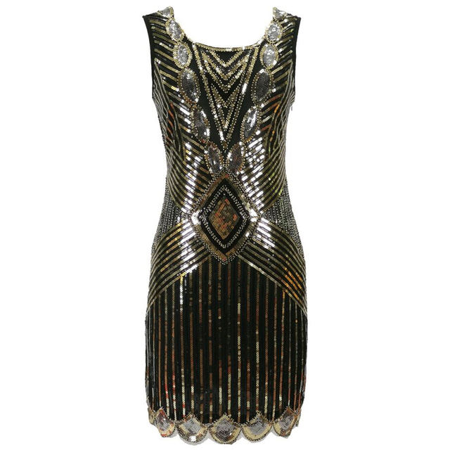 Red 1920s dress for women