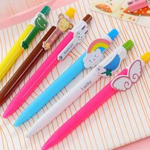 6pcs/Lot colorful  animal series ballpoint pens cute gift pen Stationery Novelty Office accessories school supplies