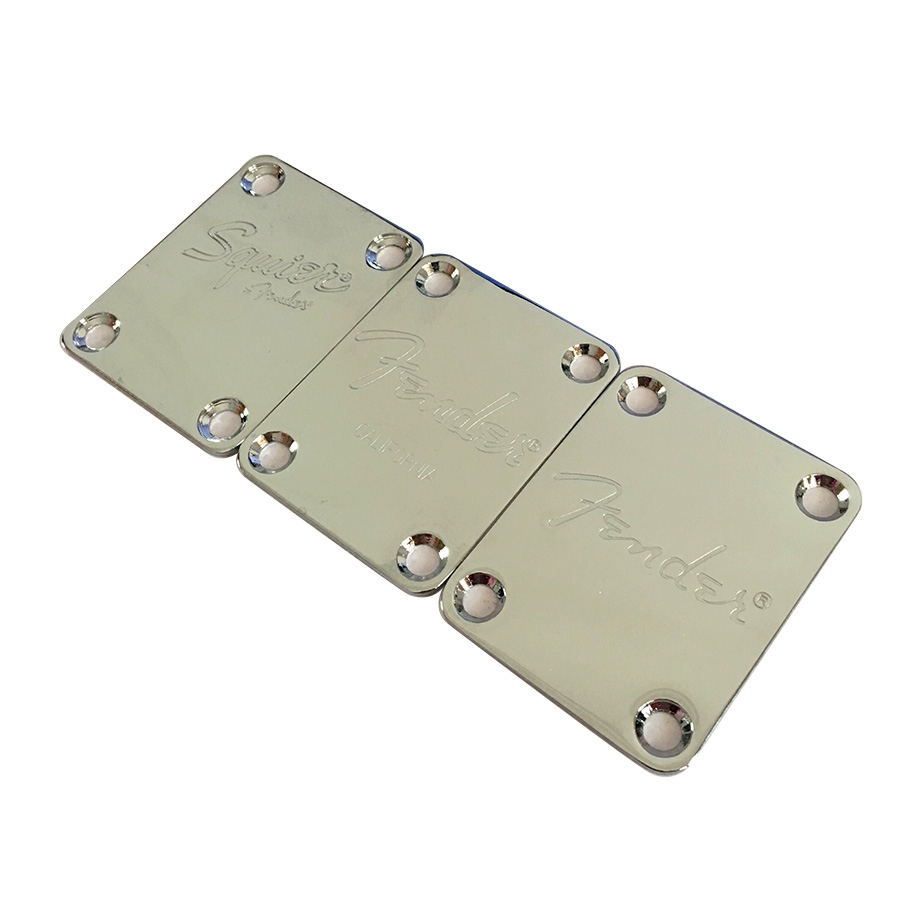 Chrome Neck Plate For ST/tele Electric Guitar