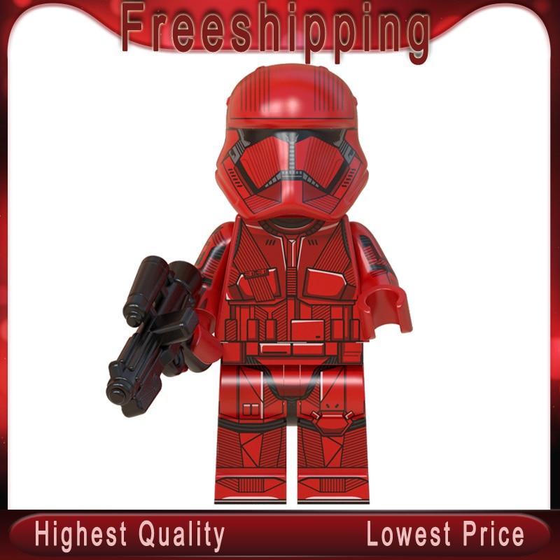 WM900 Siths Troopers Rises Of Skywalkerman Stars Wars Legoinglys MinifigurINED Mandalorian Building Blocks Bricks Model Kits Toy