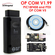 2020 v1.99 opcom v1.95 ferramenta de diagnóstico profissional para opel op com OP-COM com pic18f458 firmware v1.59 scanner automático