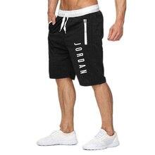 New Jordan Short Pants Mens Fitness Bodybuilding Sh