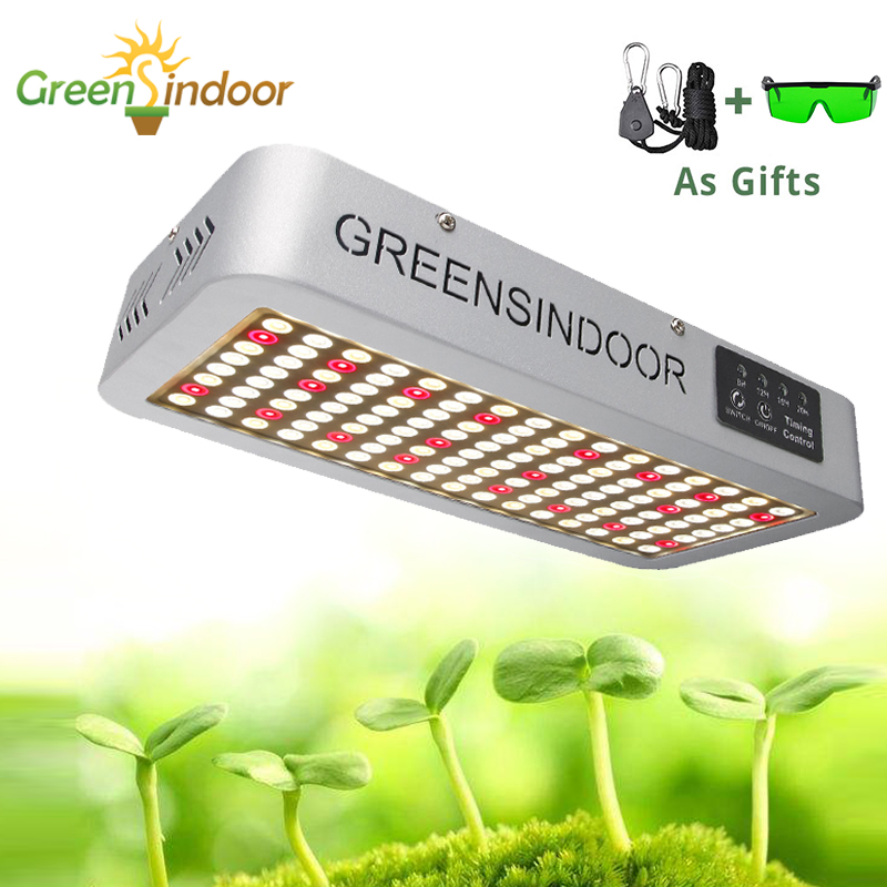 Крытый фитолампа 3000 Вт 3500 К полный спектр светодиодный светильник таймер лампа для растений растение палатка ромашка цепь теплый свет с очк