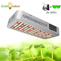 Indoor Phyto Lamp 3000W 3500K Full Spectrum LED Grow Light Timer Lamp For Plants Grow Tent Daisy Chain Warm Light With Glasses