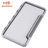 Bassdash Waterproof Fly Box Single Sided Fishing Flies Storage With Foam/Silicone Slits Insert|Fishing Tackle Boxes| |  -