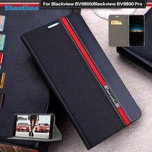 Роскошный чехол из искусственной кожи для blackview bv9800 книжка