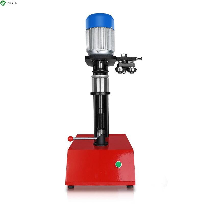12 ~ 20 Pcs / Min Manual Model Can Sealing Machine Circular Canned Food Beer Capping Machine Tin Sealing Machine