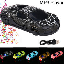 MP3 MP4 Player Portable Car Pattern Cute USB Mini MP3 Player Support 32GB Micro SD TF Card USB 2.0/1.1 For 3.5mm Stereo Jack(China)