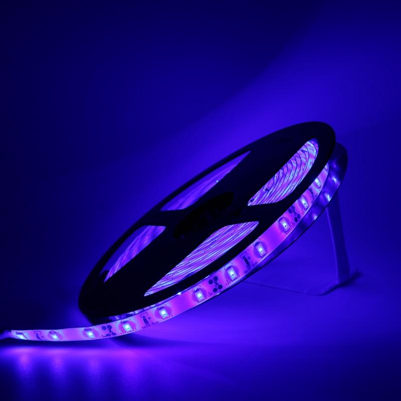 DC 12V 0.5/1/2/3/4/5M 5050 SMD RGB LED Strip Light Waterproof Led Tape Flexible Strip Light 60Leds/m Home Decor Lamp Car Lamp