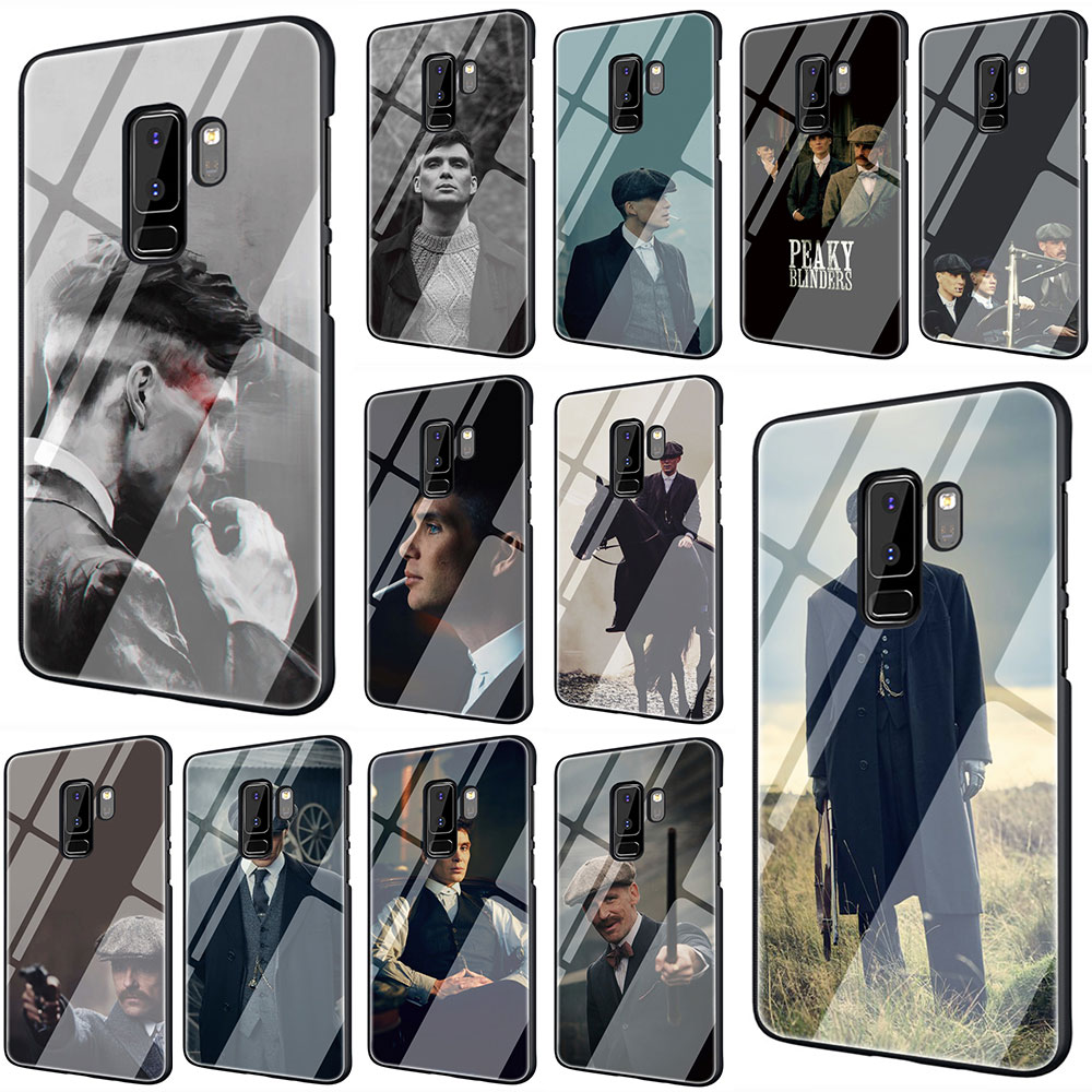 Peaky Blinders Tempered Glass Phone Cover Case For Galaxy S7 edge S8 9 10 Plus Note 8 9 10 A10 20 <font><b>30</b></font> <font><b>40</b></font> <font><b>50</b></font> <font><b>60</b></font> <font><b>70</b></font> image