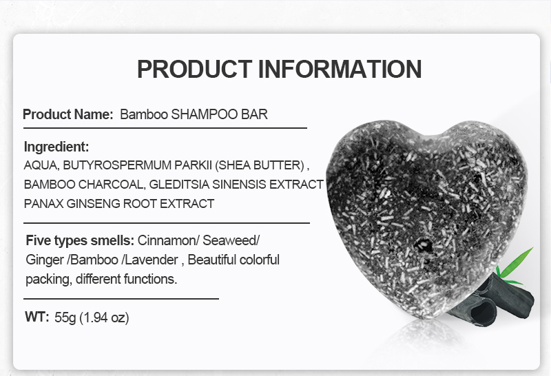 ORGANIC BAMBOO CHARCOAL HAIR SOAP