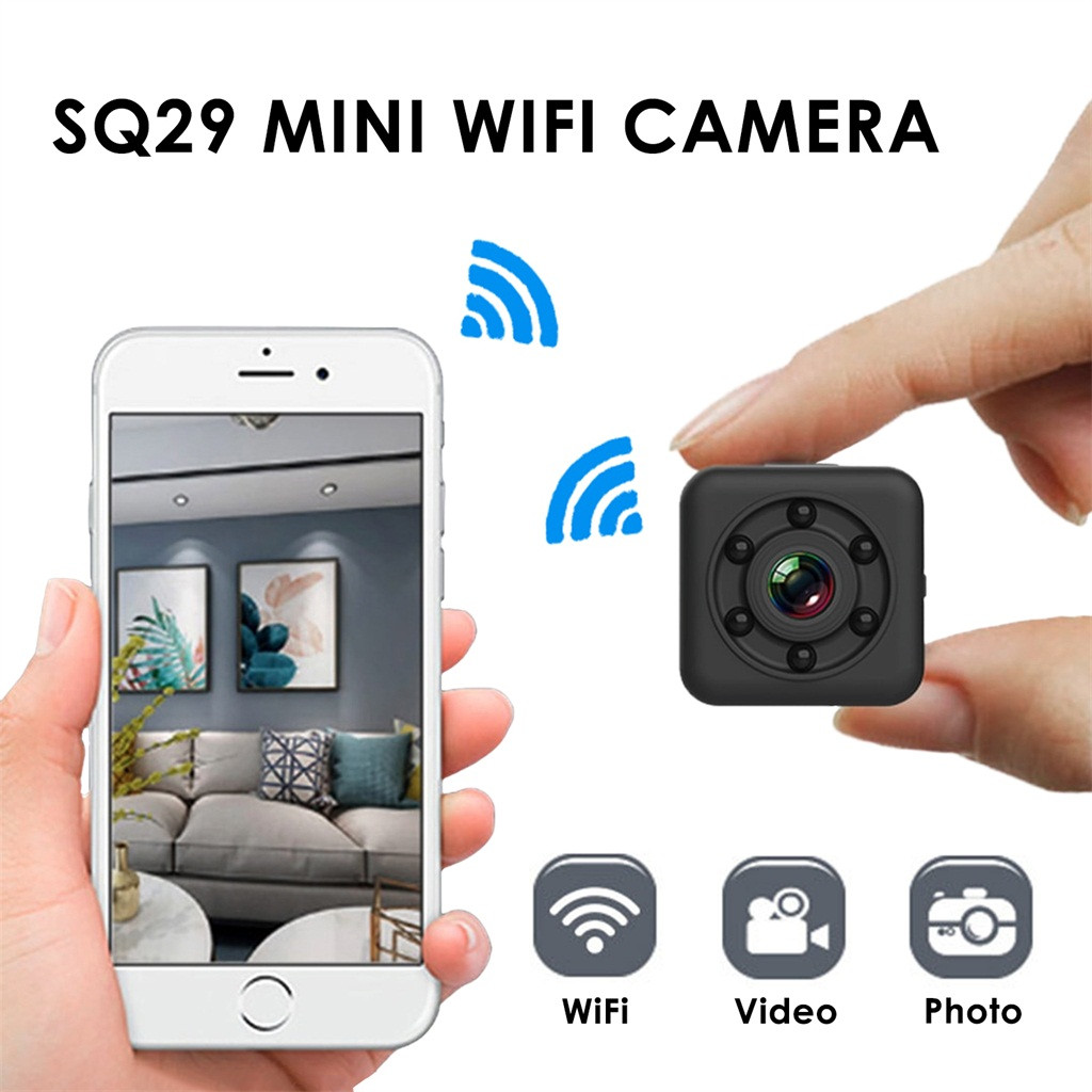 Mini Camera Camcorder Waterproof Sport 1080P SQ29 Shell Motion-Dvr Wifi Night-Version