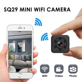 Mini kamera Mini kamera SQ29 1080P kamera Wifi wodoodporna powłoka wersja nocna Motion DVR kamera sportowa kamera Wifi tanie i dobre opinie Ouhaobin Naprawiono ostrości CN (pochodzenie) Brak 4 3 cali 15-45mm NONE