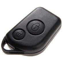 2 botões remoto chave fob caso escudo apto para citroen saxo berlingo picasso xsara peugeot 306 307 406 substituição do carro cobre