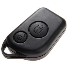 Coque de remplacement boîtier porte clé à 2 boutons télécommande, compatible avec citroën Saxo Berlingo Picasso Xsara Peugeot 306, 307, 406